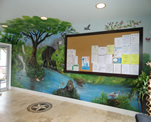 Complete Wall Jungle Mural