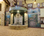 Residence Inn Lobby Fountain Murals
