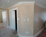 Family Room Walls Faux Finish