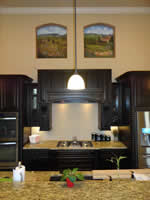 Kitchen Niches Tuscan Murals  2