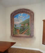 Kitchen Wall Mediterranean Mural